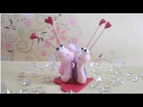 Polymer clayFimo tutorial- LOVE IS IN THE AIR! Valentine's day