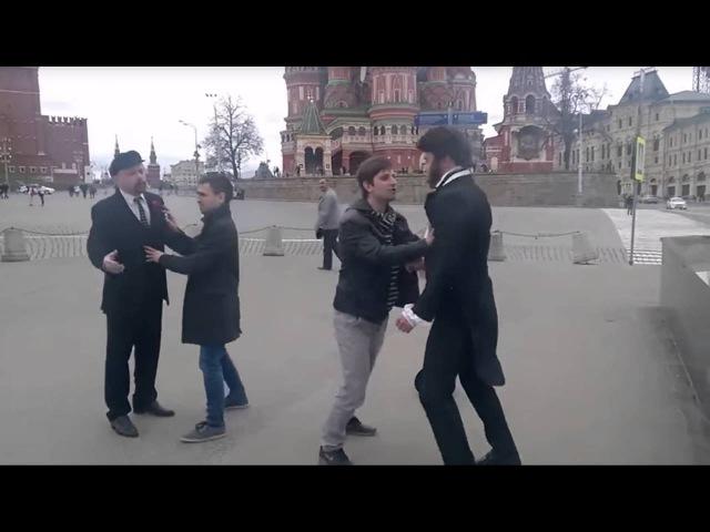 Ленин против Пушкина Олень ты кучерявый!