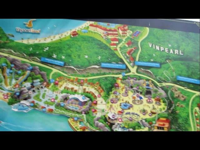 Обзор острова развлечений Vinpearl Нячанг (Vietnam Nha trang Vinpearl)