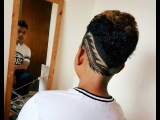 Fade Haircut with freestyle design vol 2 by Zejunho96