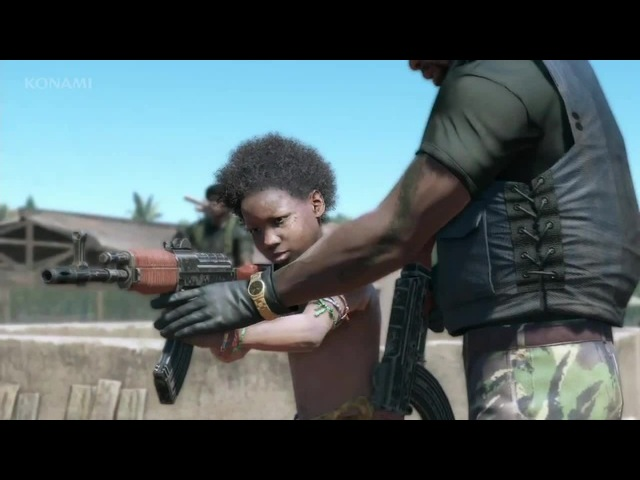 Дети с оружием. Грехи отца (Metal Gear Solid V: The Phantom Pain)