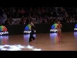 Konstantin Gorodilov &  Dominika Bergmannova   Samba final solo dance