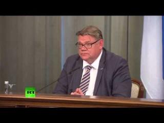 Пресс-конференция глав МИД России и Финляндии