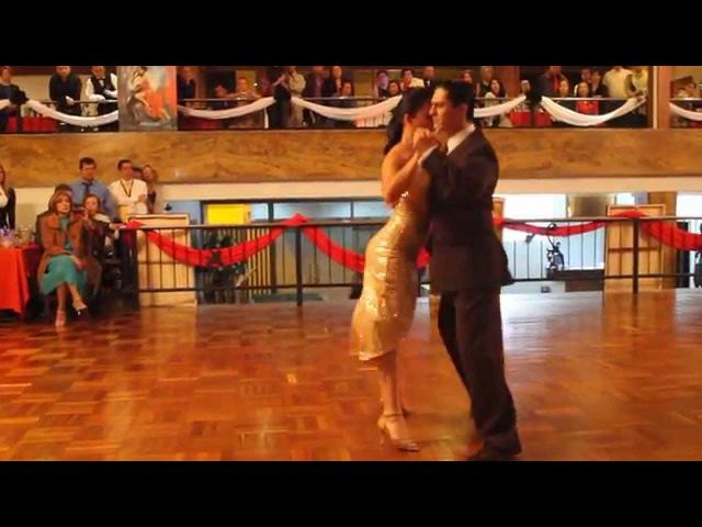 Edwin y Alexa Subcampeones Mundiales tango Pista 2014