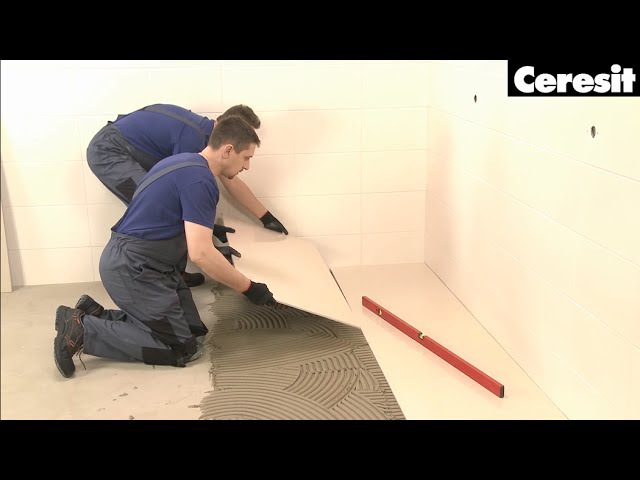 Укладання широкоформатної плитки матеріалами Ceresit