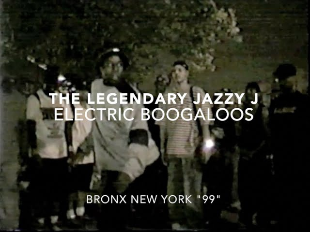 JAZZYJ - ELECTRIC BOOGALOOS