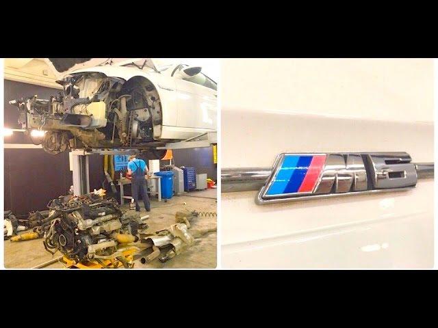 BMW M6 Лего для взрослых - Серый Дилер9