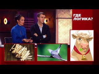 Где логика?: Иван и Эльвира Абрамовы vs. Евгений Папунаишвили и Глюкоза - Третий раунд