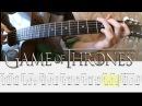 Игра Престолов Как играть на гитаре Game of Thrones ТАБЫ Уроки гитары от PlayThis6