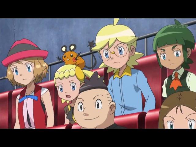 Pokemon XYZ Episode 45 | Bataille chauffée entre Satoshi et Alan