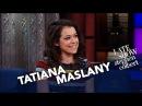 Tatiana Maslany's Weird Interaction At A Naked All-Women Spa 16.02.2017