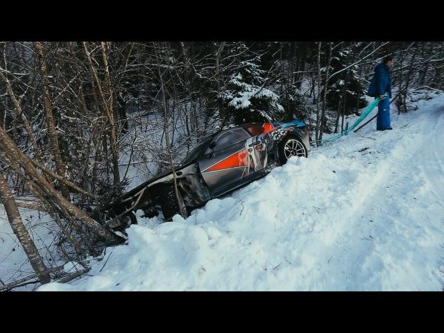 Crazy winter drift, Russia. Part 2