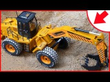 Cartoons for children about The Excavator - Digger/excavator Construction Vehicle Video for Kids