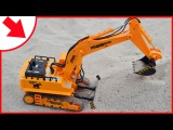 The Excavator with Construction Trucks. Diggers Cartoons for kids | Videos for children