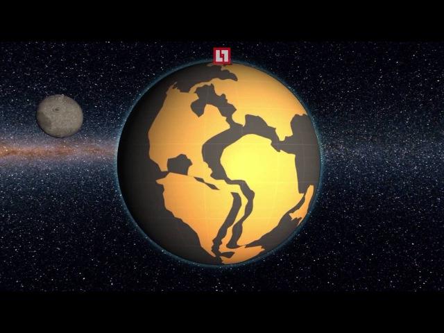Земля двигается? Какая была планета миллионы лет назад!