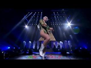 Miley Cyrus молодая и голодная тупая сука