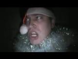 Дед мороз без бороды испугался в темноте Видео прикол Испуг