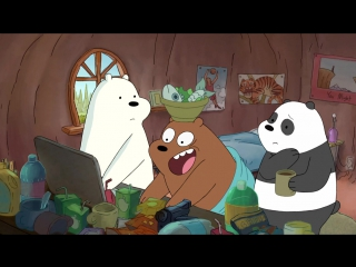 Ми обычные медведі We.Bare.Bears.S01E02.Viral.Video.WEB-DL.720p.Rus.Eng.AlexFilm