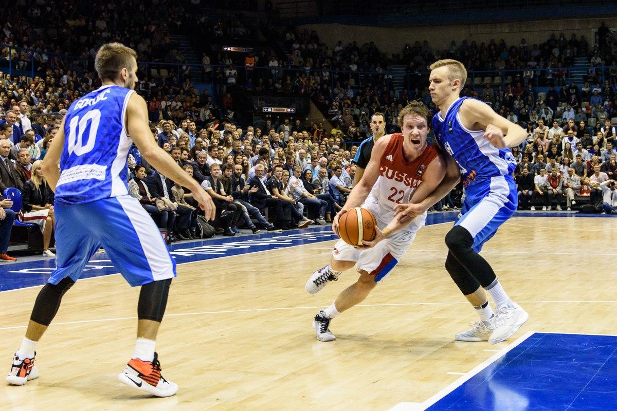 Российская Федерация обыграла Швецию, одержав вторую победу вквалификации Евробаскета