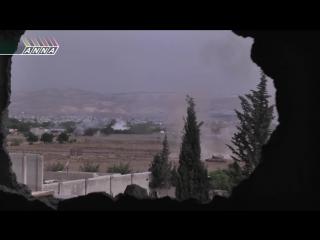Сирия. Танковый бой глазами танкиста. Война в Сирии против ИГИЛ.