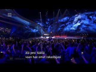 Norma John — Blackbird (Yle TV1 [Финляндия]) Евровидение 2017. Первый полуфинал. Финляндия
