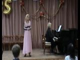 Дж. Перголези, ария Серпины из оперы Служанка-госпожа.