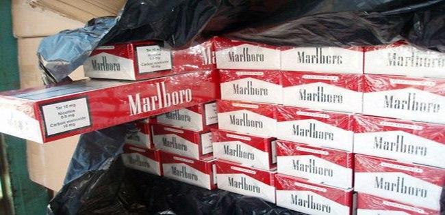 Под Таганрогом задержана гражданка Украины с более 2000 пачек сигарет Marlboro и Play