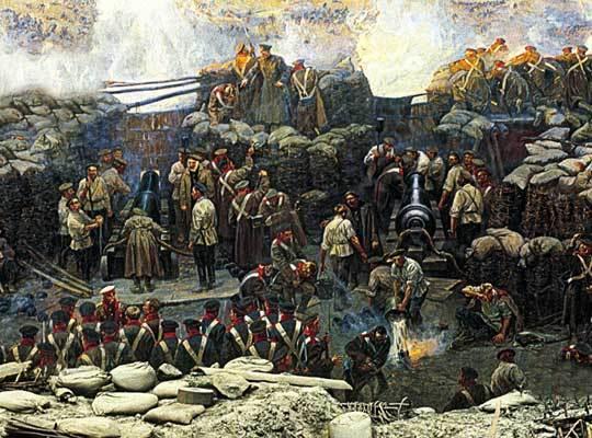 Русские моряки: третий не прикуривает