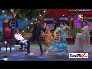 Шахид танцует под Ганди баат на шоу Капила Шармы