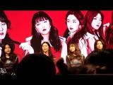 170416 Red Velvet Rookie Mini Album Event in Taipei - Seulgi Yeri cry Ending t