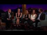 Эмили Блант на шоу Джеймса Кордена #4 (21.04.2016)
