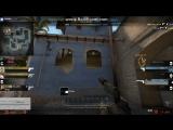 Мой прострел на карте Mirage