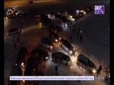 Звезда на колёсах у МЕТРО - 05.01.2017