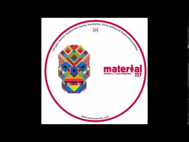 Mendo, Yvan Genkins - Urban Sound (Original Mix) [MATERIAL]