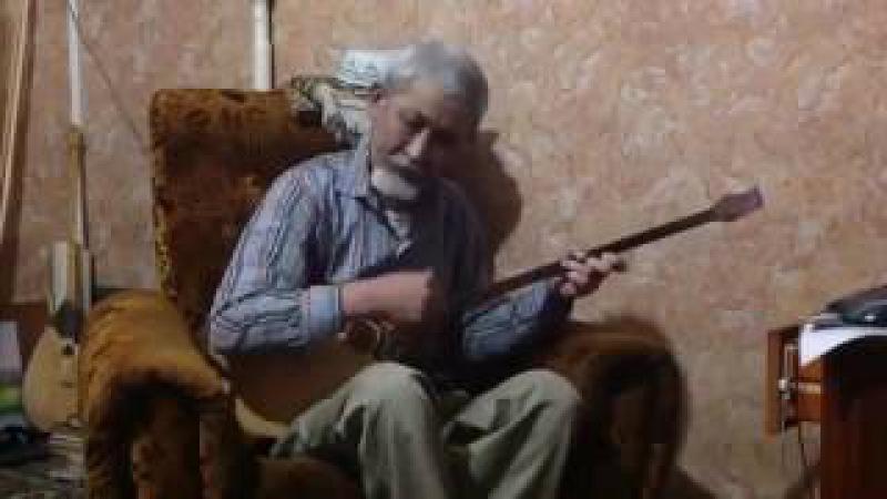 Аксакал покорил соцсети исполнив Полонез Огинского на домбре