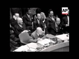 CUBA - ROCKET PHOTO'S SHOWN TO UNITED NATIONS - SOUND