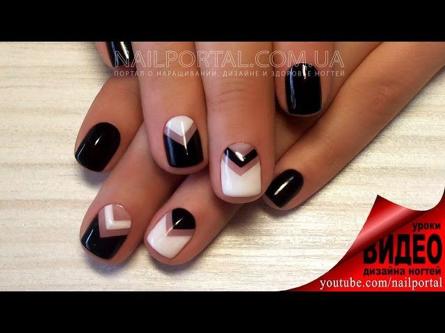 Дизайн ногтей гель-лак shellac - Роспись ногтей (видео уроки дизайна ногтей) » Freewka.com - Смотреть онлайн в хорощем качестве