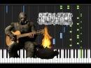 S.T.A.L.K.E.R. - Clear Sky Bandit Radio Чики-брики! И в дамки! на пианино (кавер урок)
