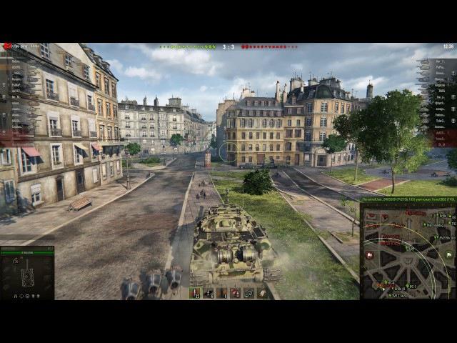 видео карта Sapphire Radeon R9 270X - игра World of Tanks