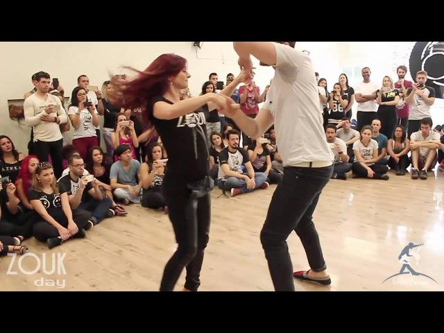 Baila Mundo Bruno Galhardo e Larissa Thayane Zouk Day Congress 2016