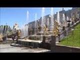 #826 Россия Петергоф Парк фонтанов Большой каскад Часть 1