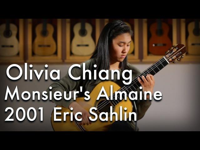 Olivia Chiang Monsieur's Almaine 2001 Eric Sahlin