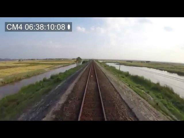 Train Driver record SE4 Nha Trang Tuy Hoa 2015