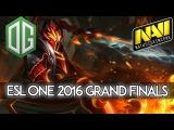 EPIC Grand Finals - OG vs. NAVI - ESL One Frankfurt 2016 Dota 2