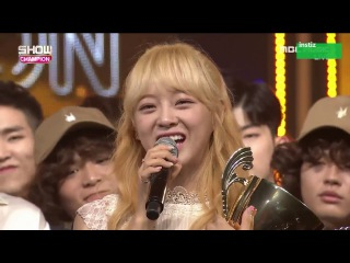 I.O.I - Gugudan Kim Se Jeong win Show Champion