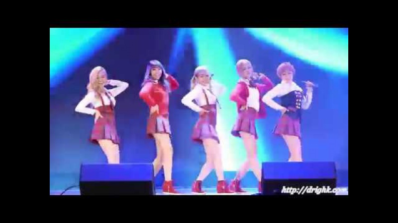 Корейские девочки группа TREN D (выступление с разных площадок)