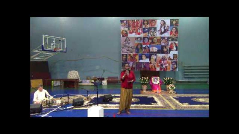 05 Ave Mariya - Sings Rachelle Jeanti and Ukrainian Sahaja Yogis Seminar Shri Hanumana in Ukraine