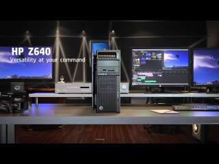 HP Z Desktop Workstations - Harness the Power