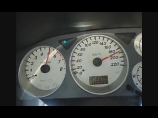 205 км/час на Лансере 9, 98 л.с. |
