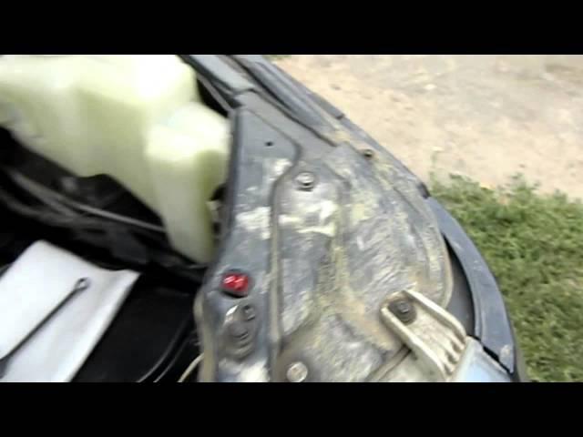 Как убрать ржавчину с кузова авто (Мовиль)